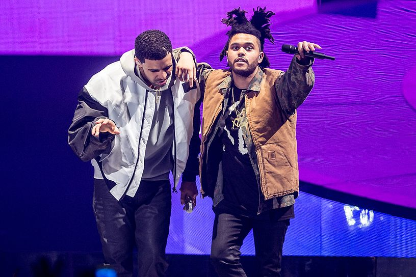 Drake en The Weeknd